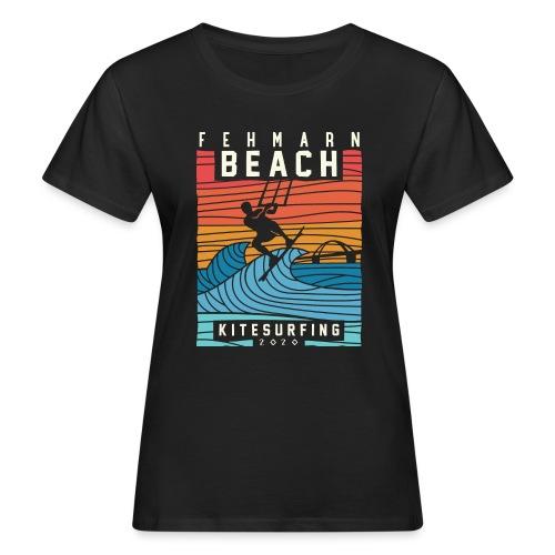 Fehmarn - Kitesurfen - Frauen Bio-T-Shirt