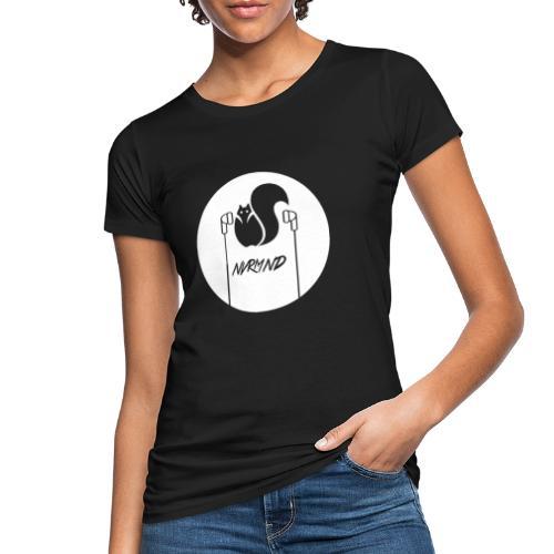WHITE LOGO - Frauen Bio-T-Shirt
