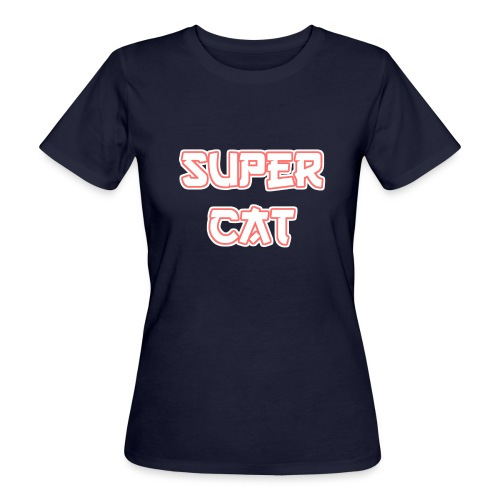 Super Cat - Frauen Bio-T-Shirt