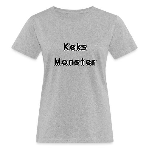 Keks Monster - Frauen Bio-T-Shirt