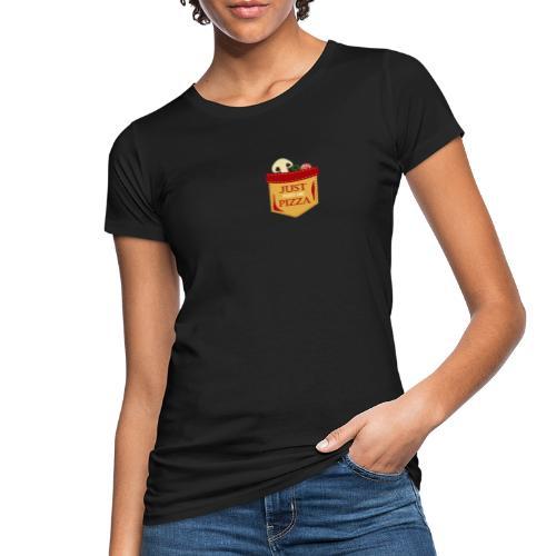 Bare mat meg pizza - Økologisk T-skjorte for kvinner