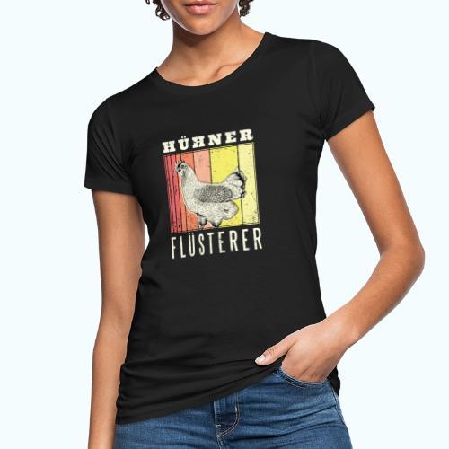 Retro chicken drawing - Women's Organic T-Shirt