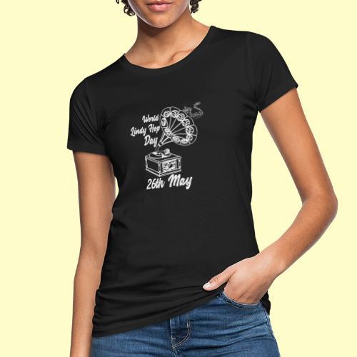Lindy Hop Day Swing Dancing Vintage Geschenk - Frauen Bio-T-Shirt