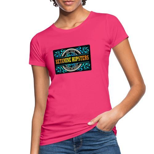 Black Vintage - KETAMINE HIPSTERS Apparel - Women's Organic T-Shirt