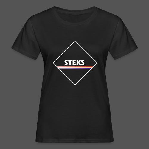 3Color STEKS™ Logo - Vrouwen Bio-T-shirt