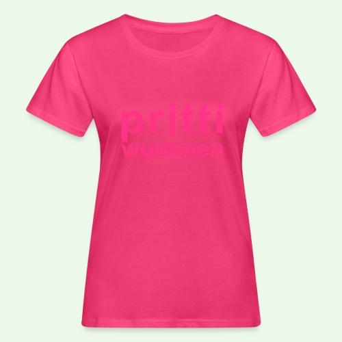 pritti wummen // pretty woman // girl power - Frauen Bio-T-Shirt