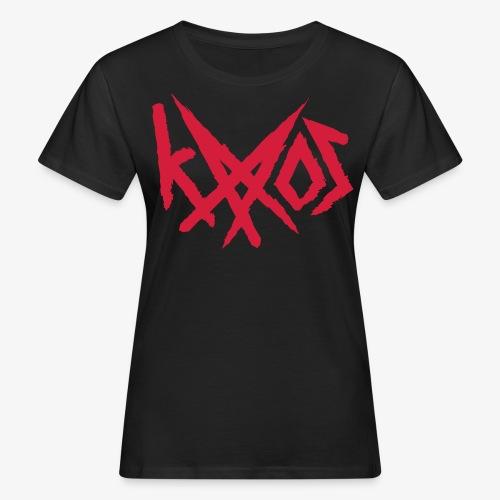 Logo - Naisten luonnonmukainen t-paita