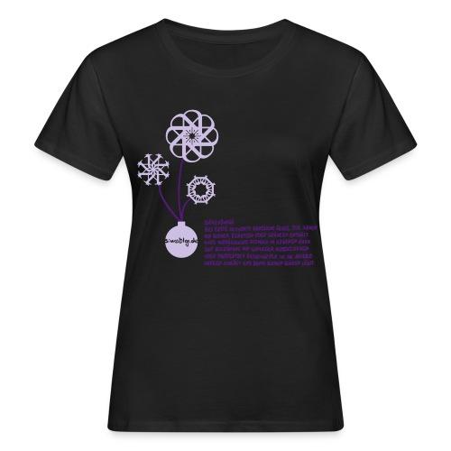 Seedbomb 01b eps - Frauen Bio-T-Shirt