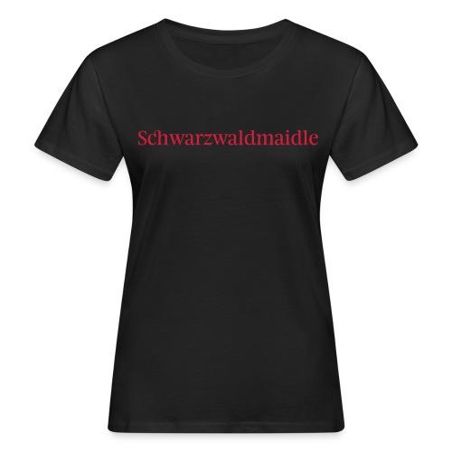 Schwarzwaldmaidle - T-Shirt - Frauen Bio-T-Shirt