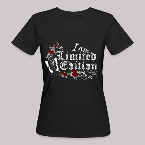 simply wild limited edition on black - Frauen Bio-T-Shirt