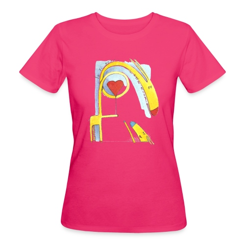 Giraffa innamorata - T-shirt ecologica da donna
