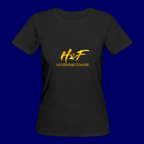 h f gold2 - T-shirt ecologica da donna