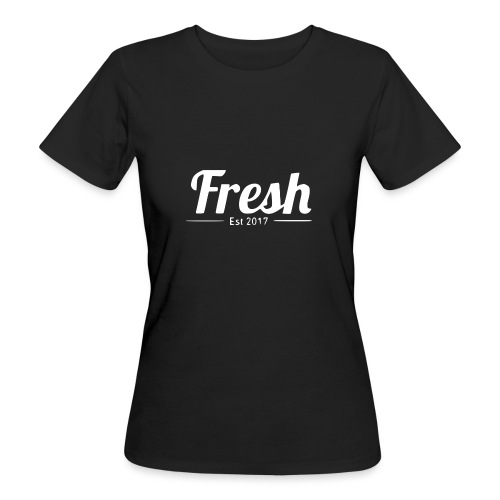 white logo - Women's Organic T-Shirt