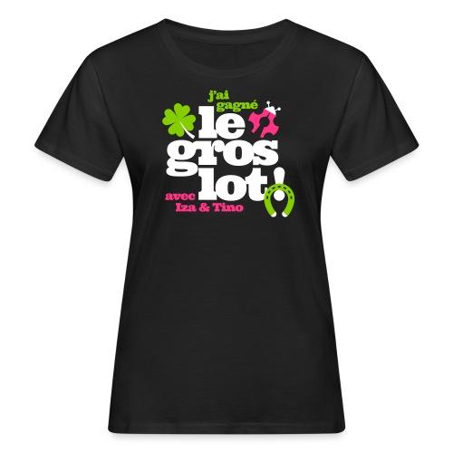 gros lot motif ok - T-shirt bio Femme