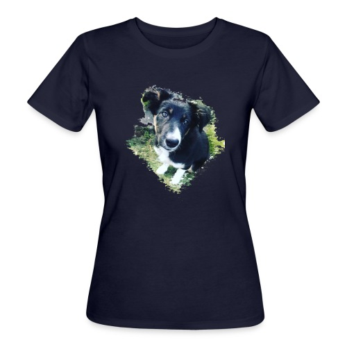 colliegermanshepherdpup - Women's Organic T-Shirt