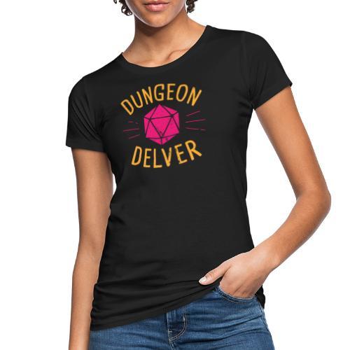 Dungeon Delver yellow pink - Women's Organic T-Shirt