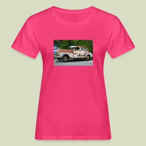RustyCar - Naisten luonnonmukainen t-paita