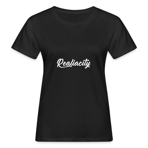 Realiacity Logo - Camiseta ecológica mujer