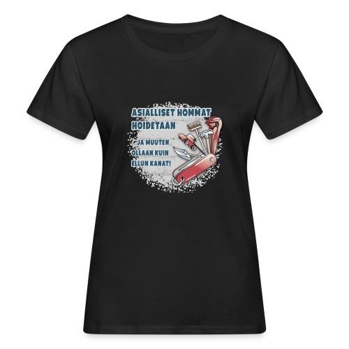TYÖKALU todelliselle ammattilaisille, Tekstiilit.. - Naisten luonnonmukainen t-paita