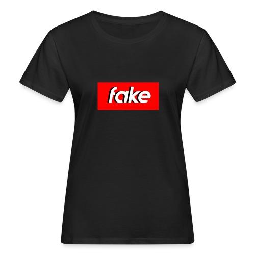 shadow logo - T-shirt ecologica da donna