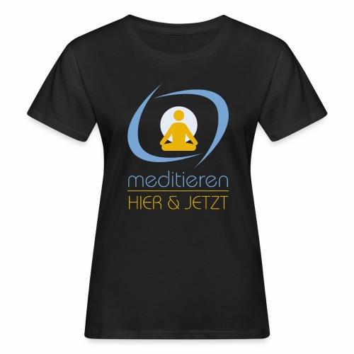 MeditierenHierJetzt.ch - Frauen Bio-T-Shirt