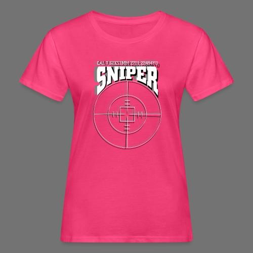 Sniper (white) - Frauen Bio-T-Shirt