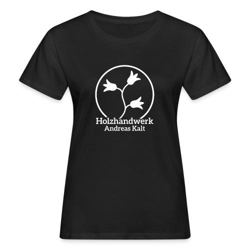 White Holzhandwerk logo - Women's Organic T-shirt
