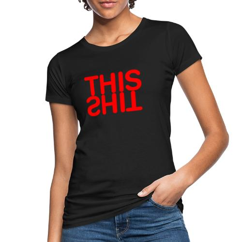 THIS Red - Camiseta ecológica mujer