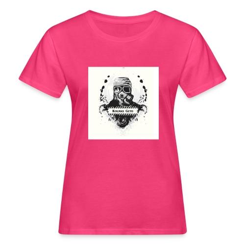 KOLMAS GETO LOGO VALMIS ISO RESOLUUTIO - Naisten luonnonmukainen t-paita