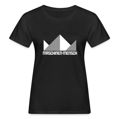 Maschinen-Mensch Logo black - Frauen Bio-T-Shirt
