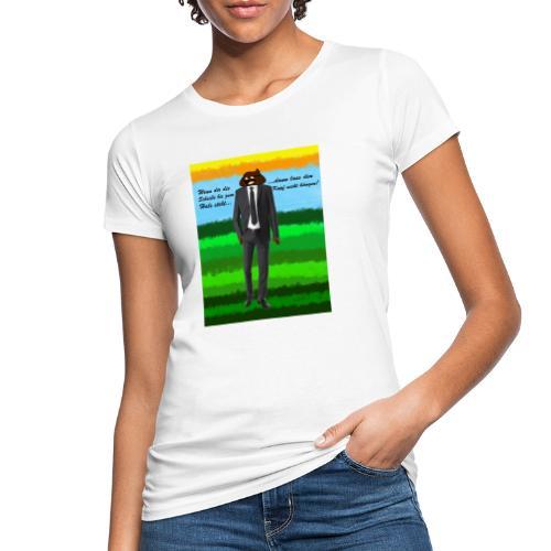 scheiß design - Frauen Bio-T-Shirt