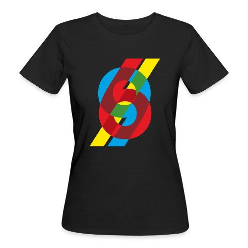 colorful numbers - Women's Organic T-Shirt