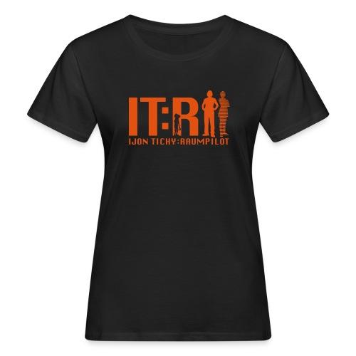 tichy logo klein - Frauen Bio-T-Shirt