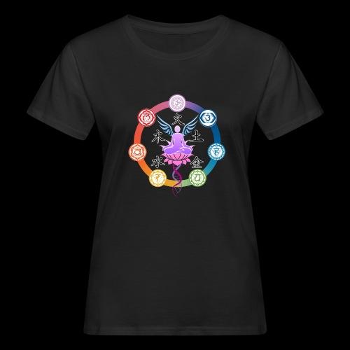 armonia delle energie all colors - T-shirt ecologica da donna