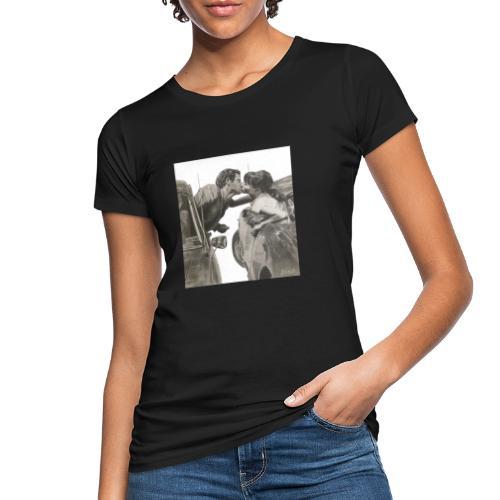 Travel fondo blanco - Camiseta ecológica mujer