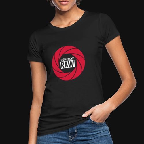 I SHOOT RAW - Frauen Bio-T-Shirt