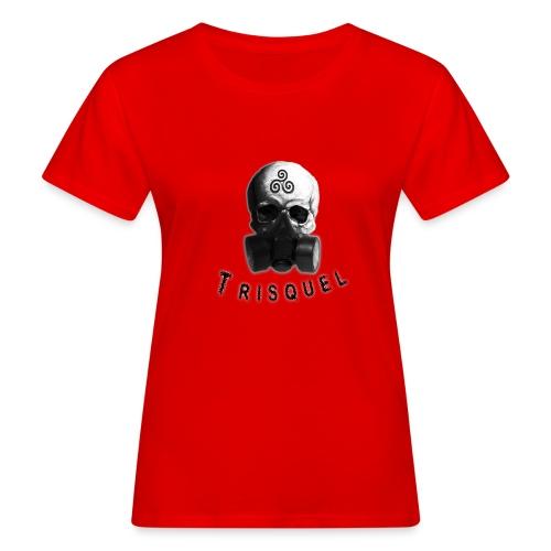 Trisquel Negro - Camiseta ecológica mujer