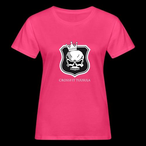 CrossFit Tuusula BW - Naisten luonnonmukainen t-paita