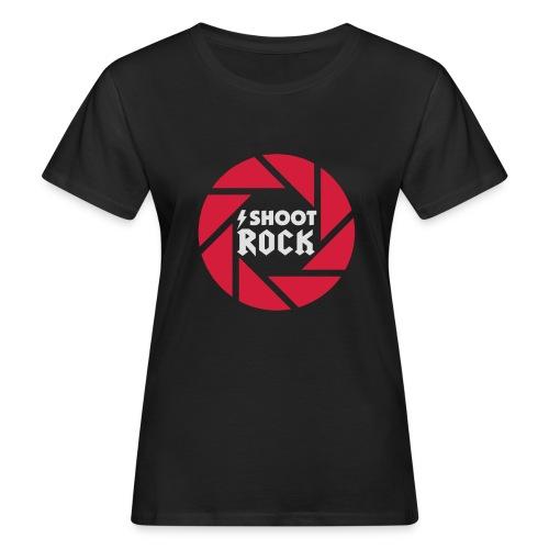 I shoot Rock (white) - Frauen Bio-T-Shirt