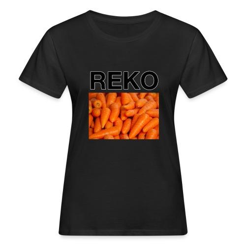 REKOpaita porkkanat - Naisten luonnonmukainen t-paita