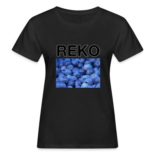REKOpaita mustikka - Naisten luonnonmukainen t-paita