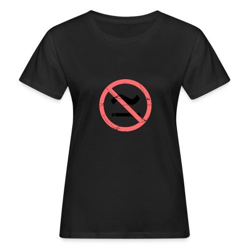 The Commercial NO SMOKING (Salmon) - Women's Organic T-Shirt