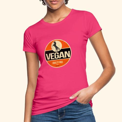 VEGAN Prancing Horse - Women's Organic T-Shirt