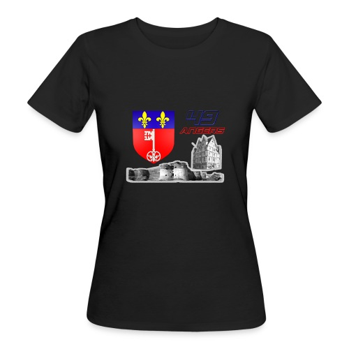 49 Angers - T-shirt bio Femme