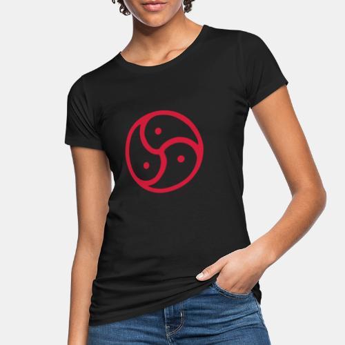 Triskelion / Triskele single-color - Frauen Bio-T-Shirt