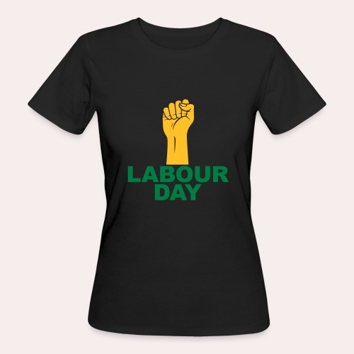 Día del trabajo / Puño en alto - Camiseta ecológica mujer