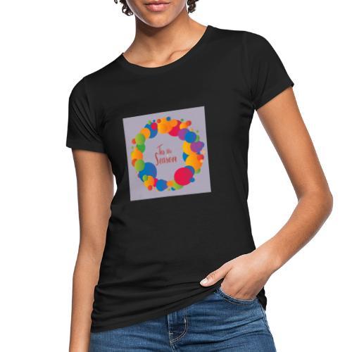Magliette da donna con risvolti - T-shirt ecologica da donna