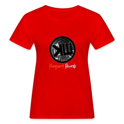 white logo tshirt - Women's Organic T-Shirt