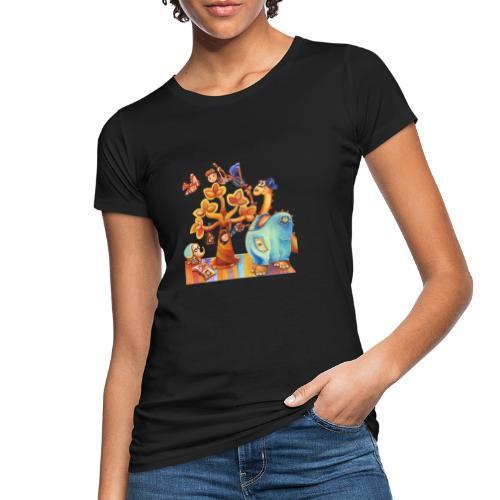 Dinosauro buono - T-shirt ecologica da donna