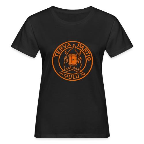 Tervapartio_oranssi - Naisten luonnonmukainen t-paita